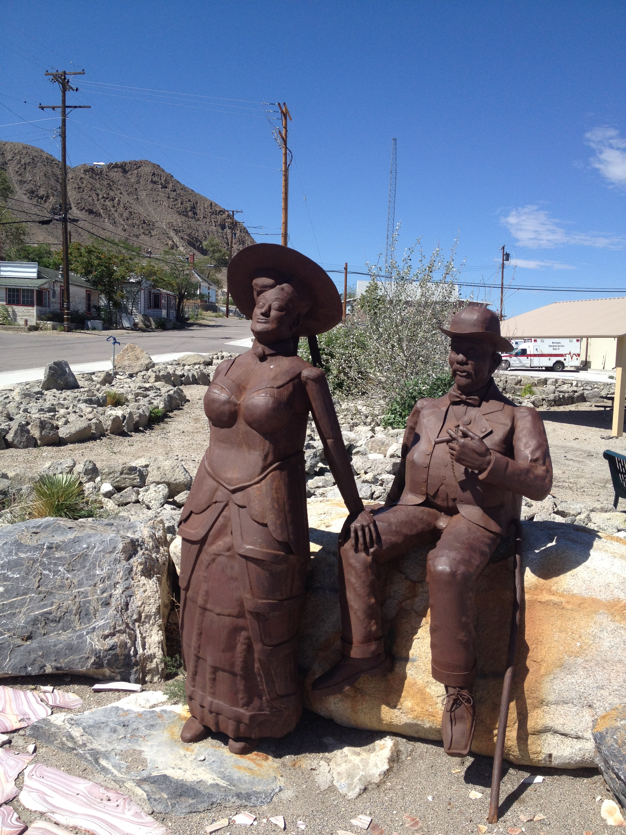 Jim and Belle Butler of Tonopah fame