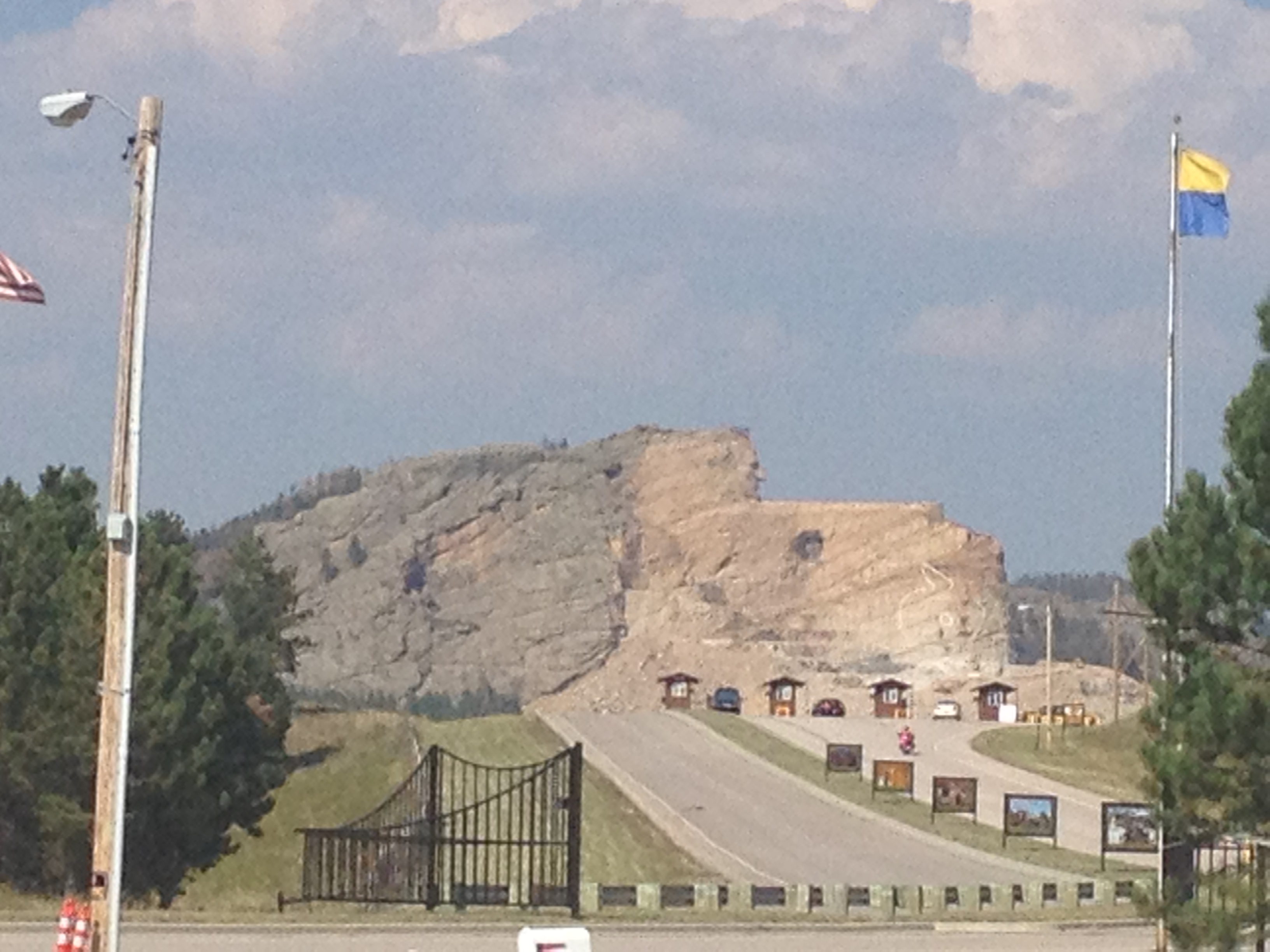 Crazy Horse immortalized
