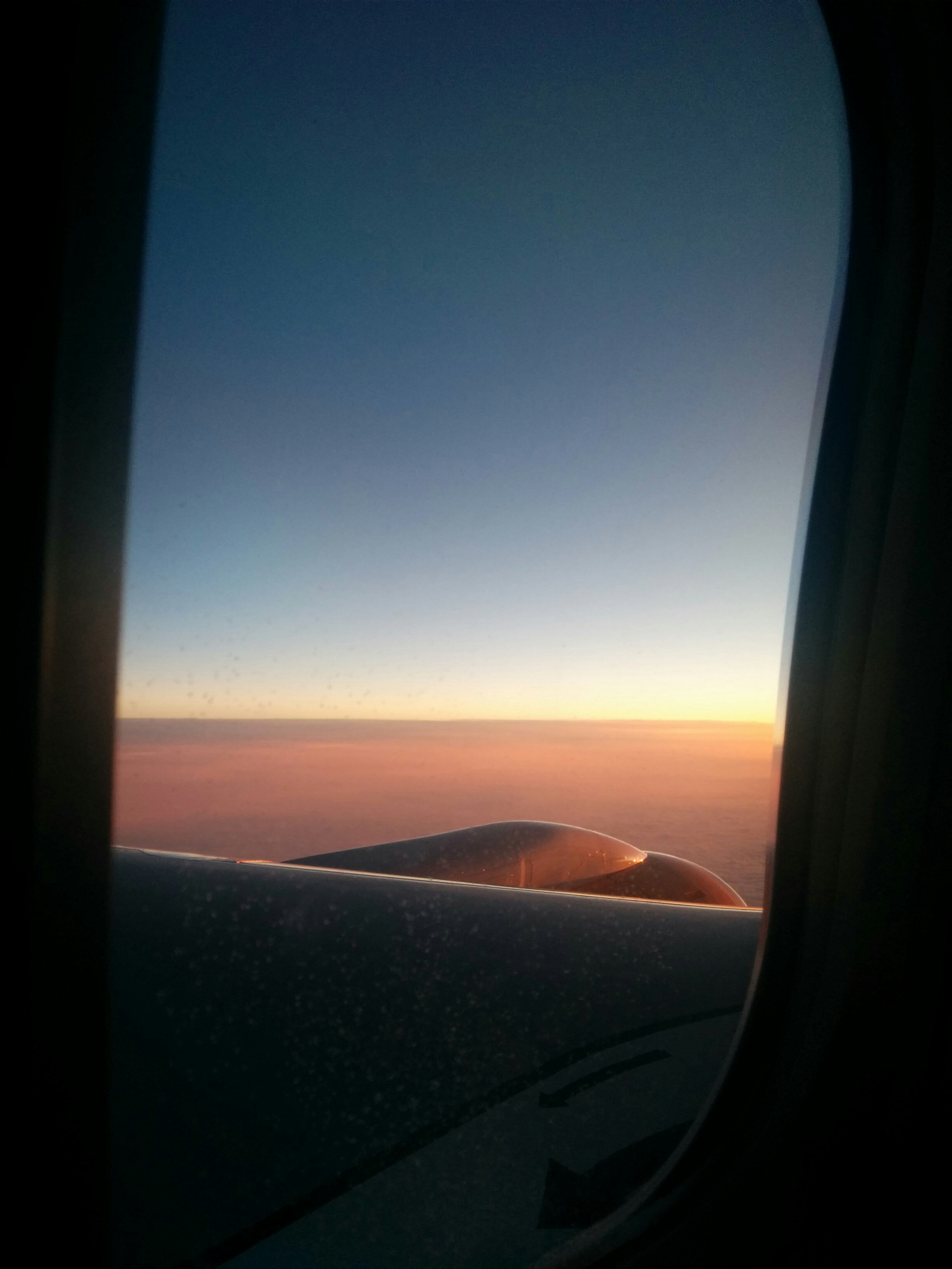 A room with a view at 30,000 ft.
