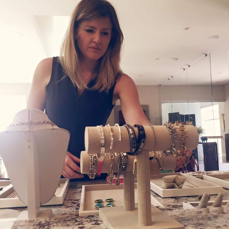Stella and Dot trunk show prep