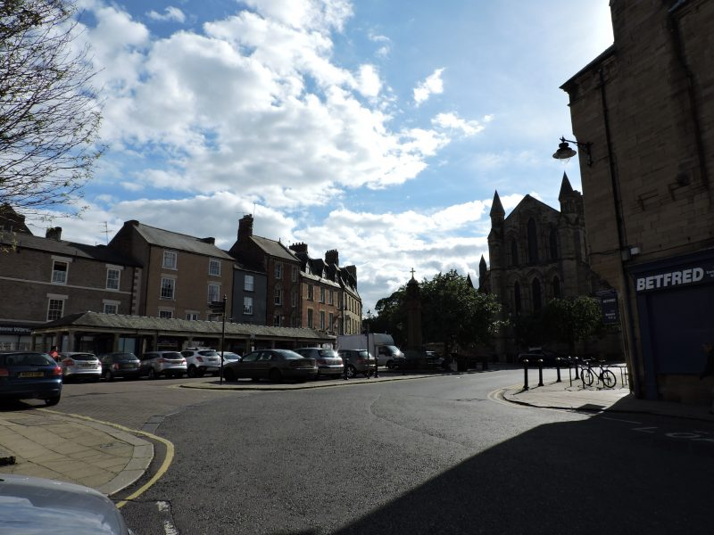 Oh, little town of Hexham