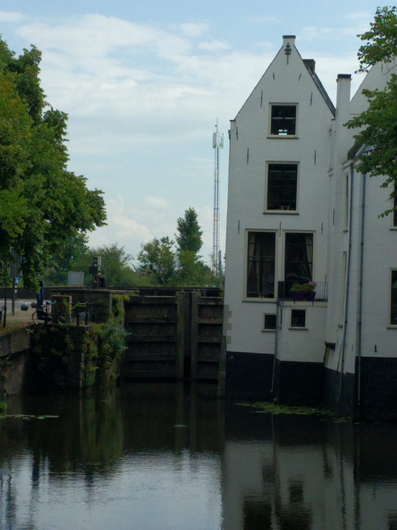 Sluice, Gouda, the Netherlands
