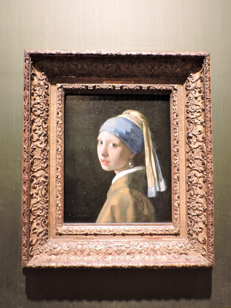 Girl with a Pearl Earring, Mauritshuis, The Hague, the Netherlands